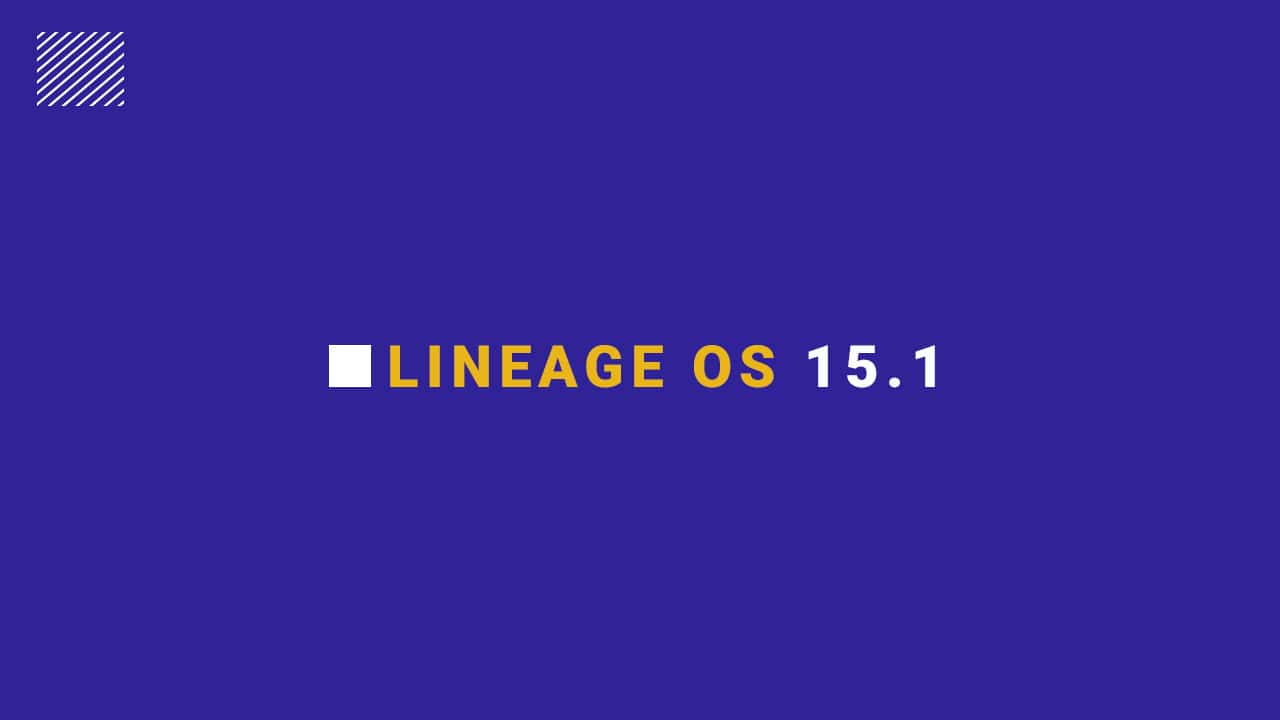 Lineage OS 15.1 For LG Aristo 2