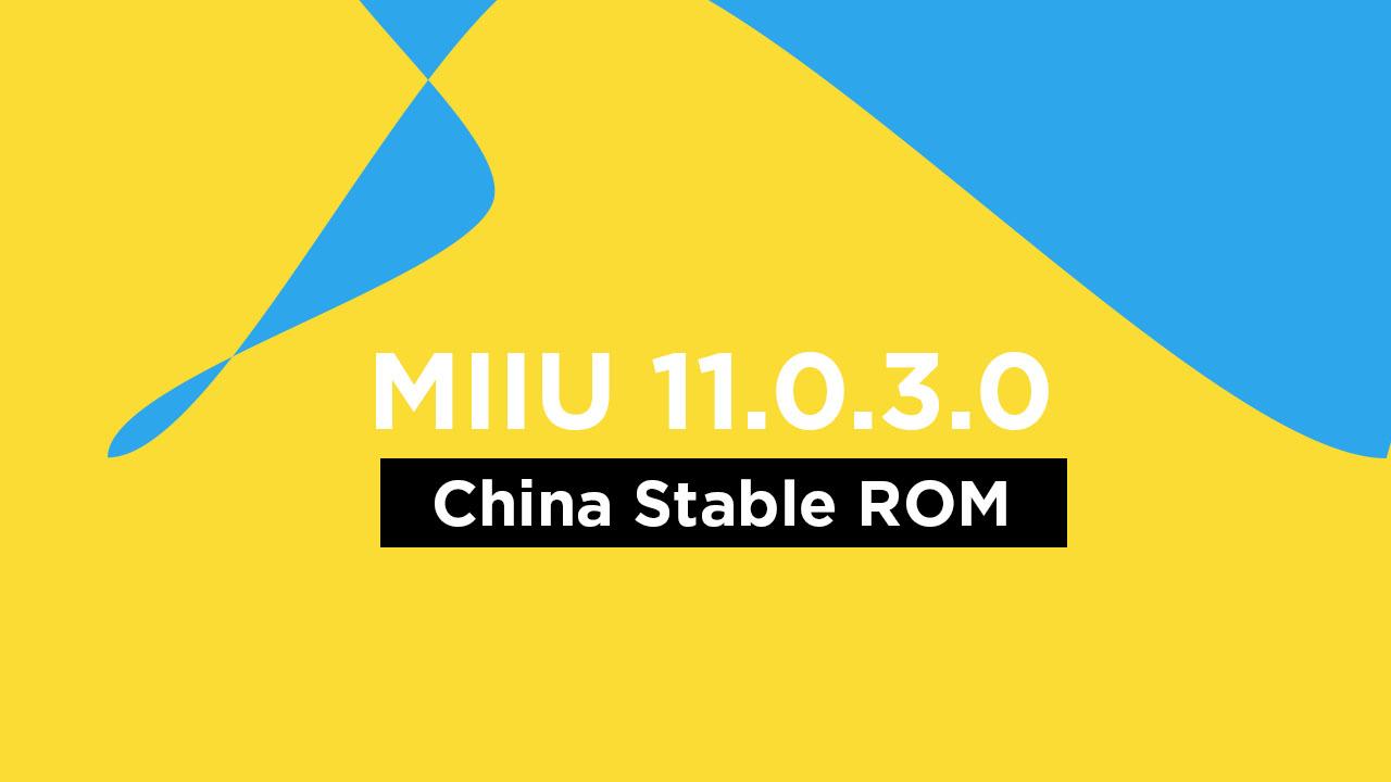 Mi Play MIUI 11.0.3.0 China Stable ROM {V11.0.3.0.OFICNXM}