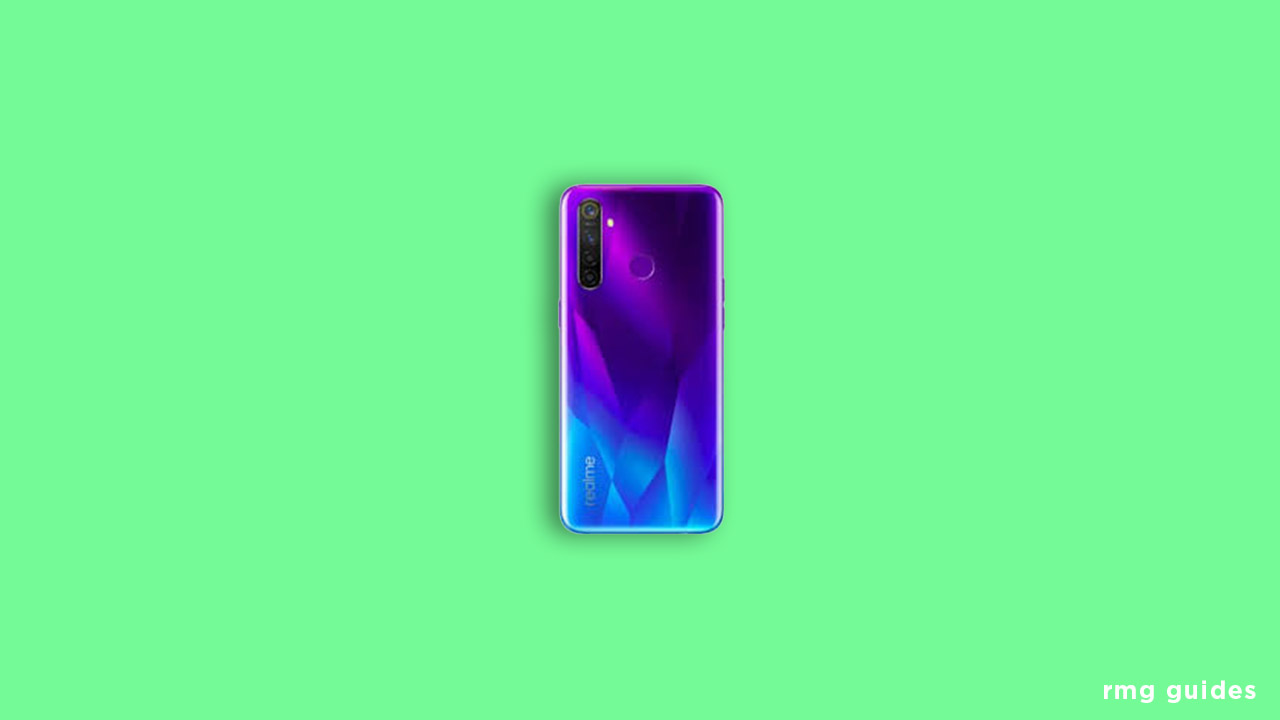 Download and Install Realme 5 Pro Stock ROM (Firmware File)