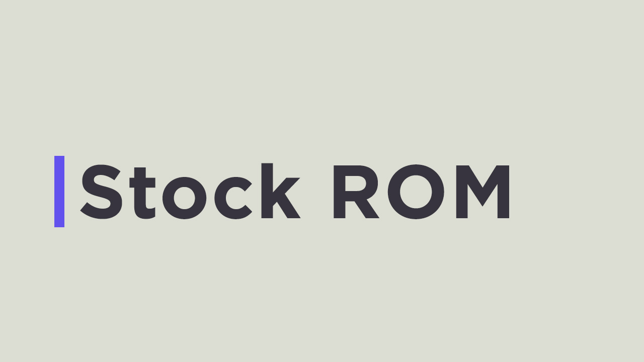 Install Stock ROM on We R2 (Firmware File)