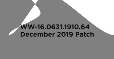 WW-16.0631.1910.64: Download Asus Rog Phone 2 December 2019 Patch