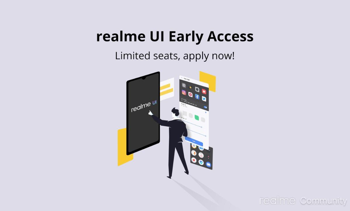 Realme UI (Android 10) Beta registration For Realme XT & Realme 3 is open for early access