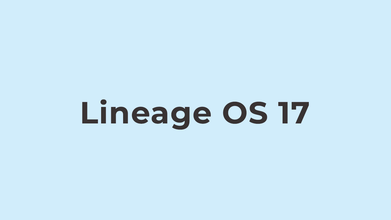Install Lineage OS 17 On Alcatel 1 (2019) (Android 10)