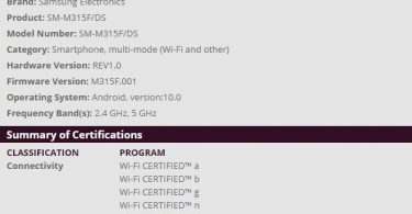 Samsung Galaxy M11, M31 & A11 get Wifi certification