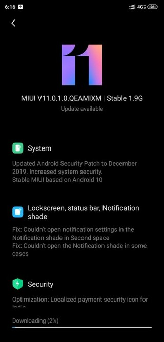 Xiaomi Mi 8 Pro Gets Android 10 stable update with December 2019 patch