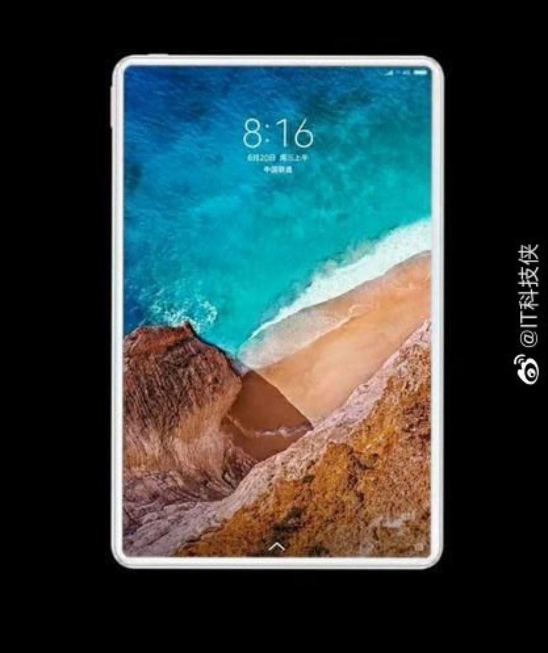 Xiaomi Mi Tablet 5 Images Leaked Online