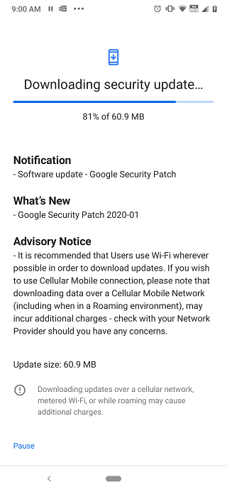Nokia 6.2 and 7.2 V1.16A / V1.39A Update