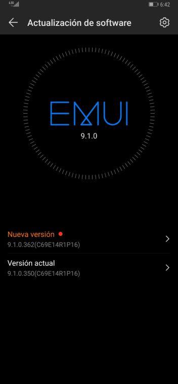 Huawei Mate 20 (Pro) V9.1.0.362 December 2019 Update