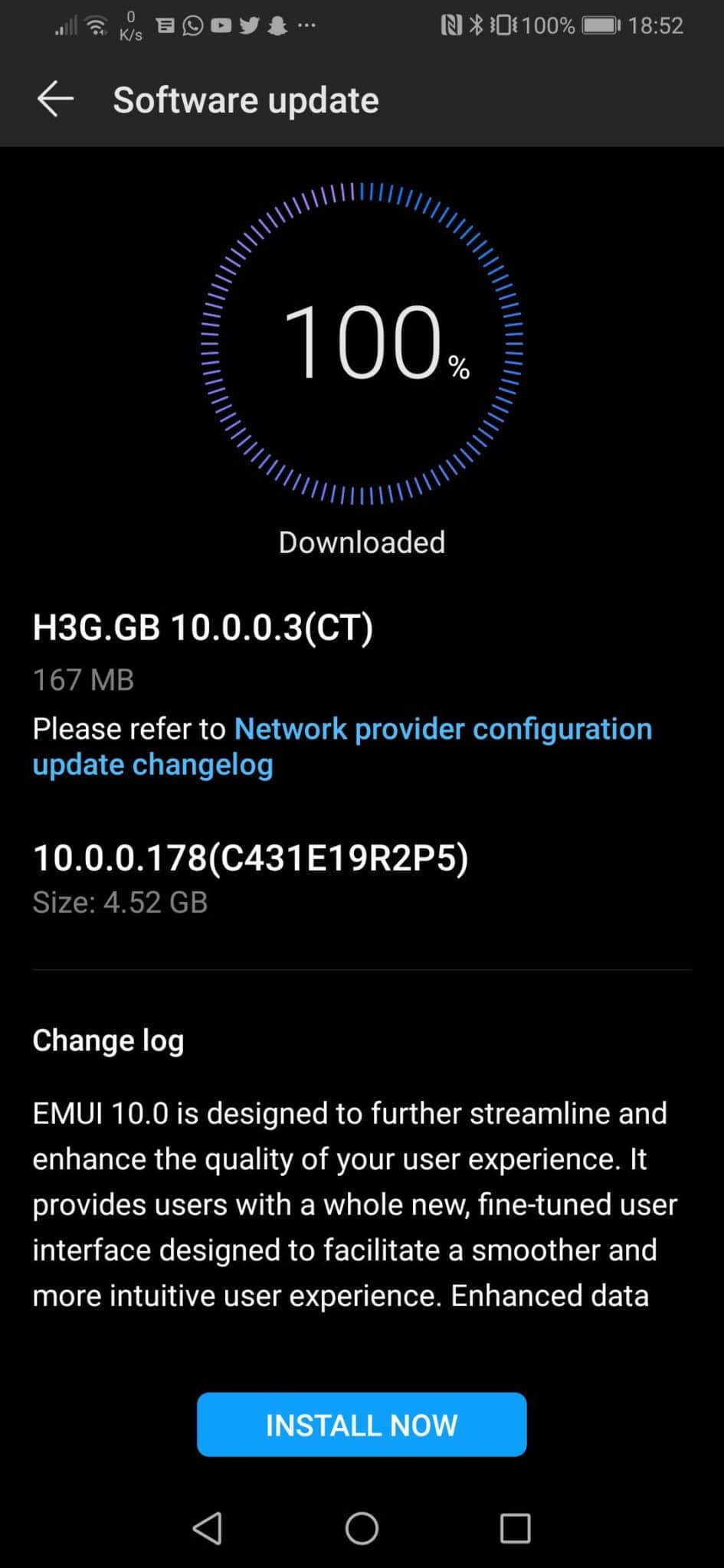 UK Three Carrier Locked Android 10 Update Huawei P30/Pro
