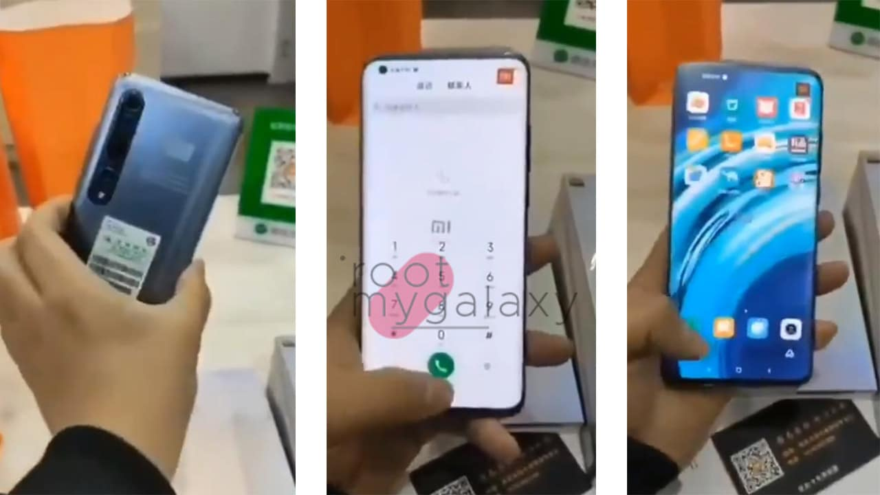 EXCLUSIVE: Alleged Xiaomi Mi 10 hands-on video leaked