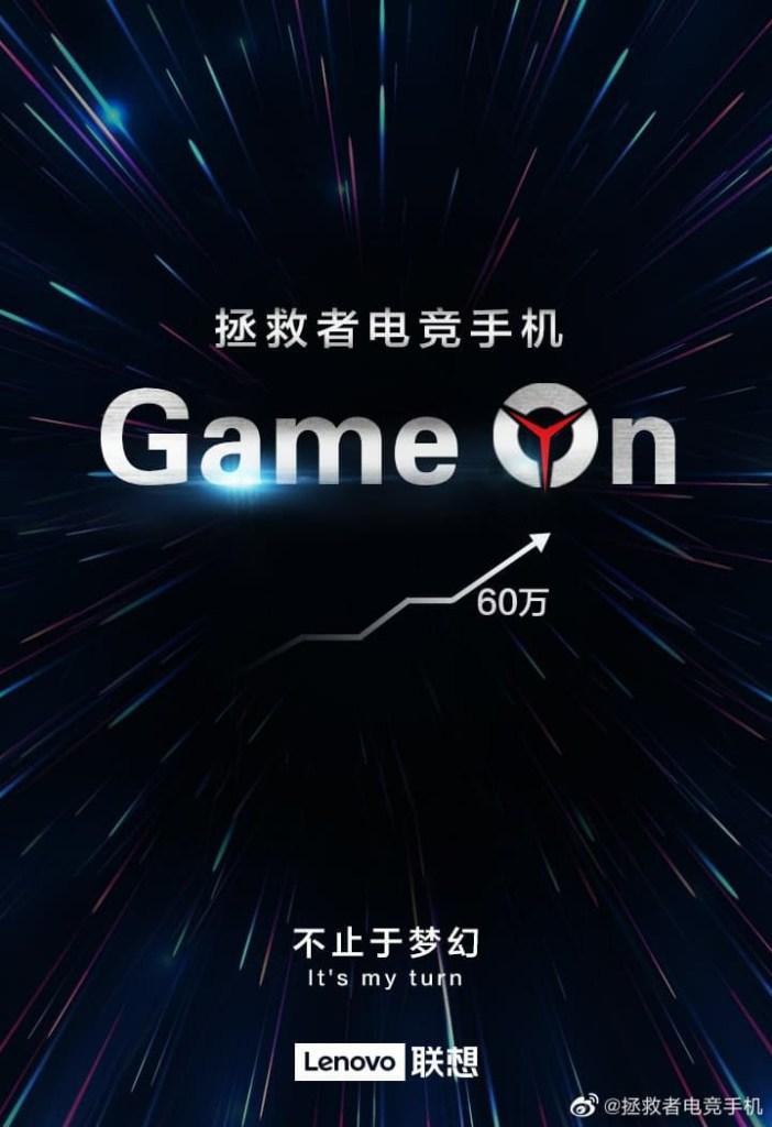 Lenovo gaming phone scored more than 600000 in Antutu