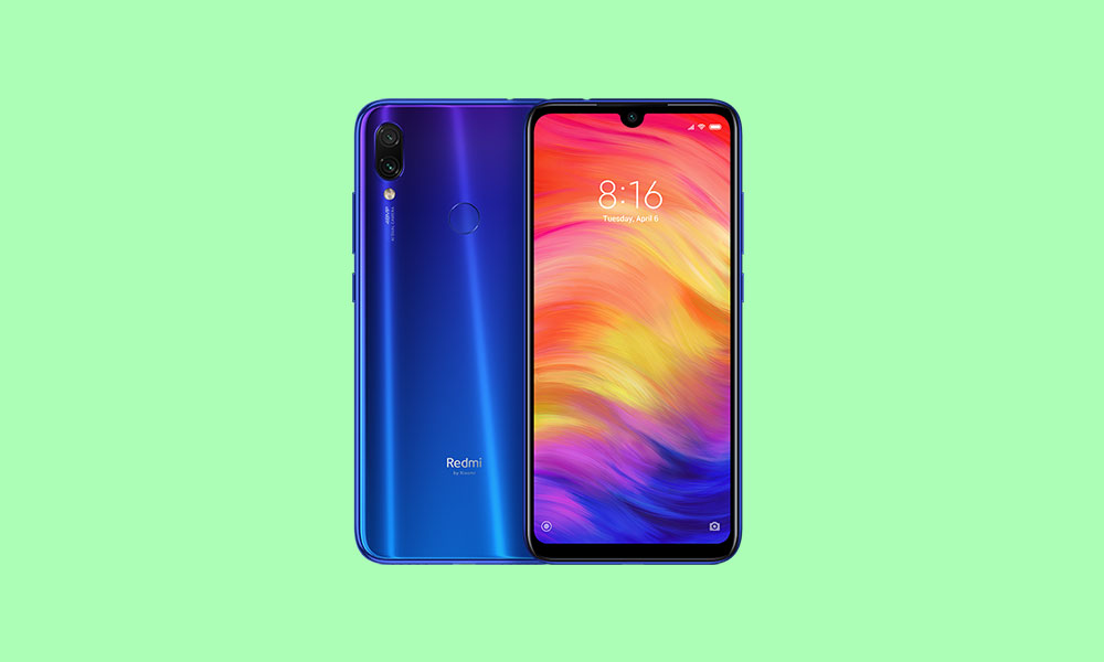 Download Xiaomi Redmi Note 7 Pro MIUI 11.0.8.0 Global stable ROM (Hotfix update)