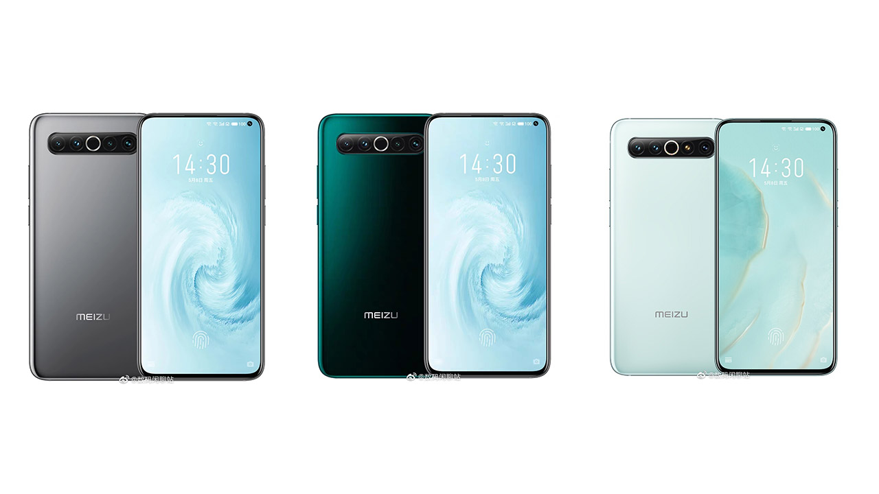 Meizu 17 Pro to come with ceramic body as standard, other colors confirmed by official renders