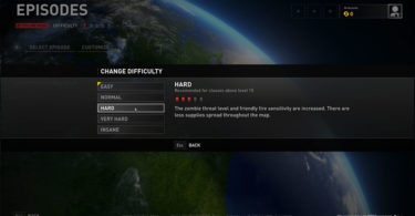 How You Can Change Difficulty in World War Z?