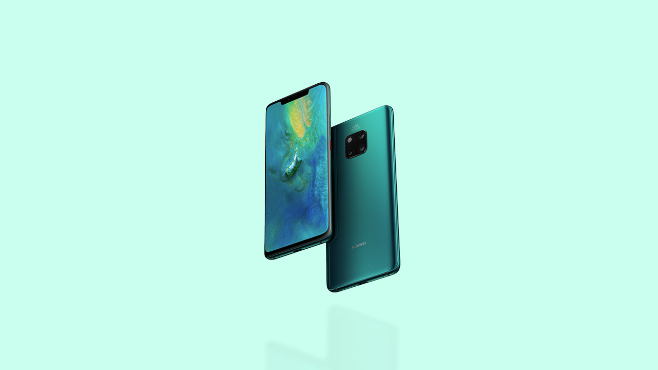 Huawei Mate 20 series get EMUI 10.0.0.200 update with April 2020 security patch