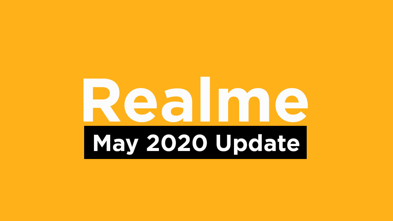 ealme May 2020 Security Update Tracker