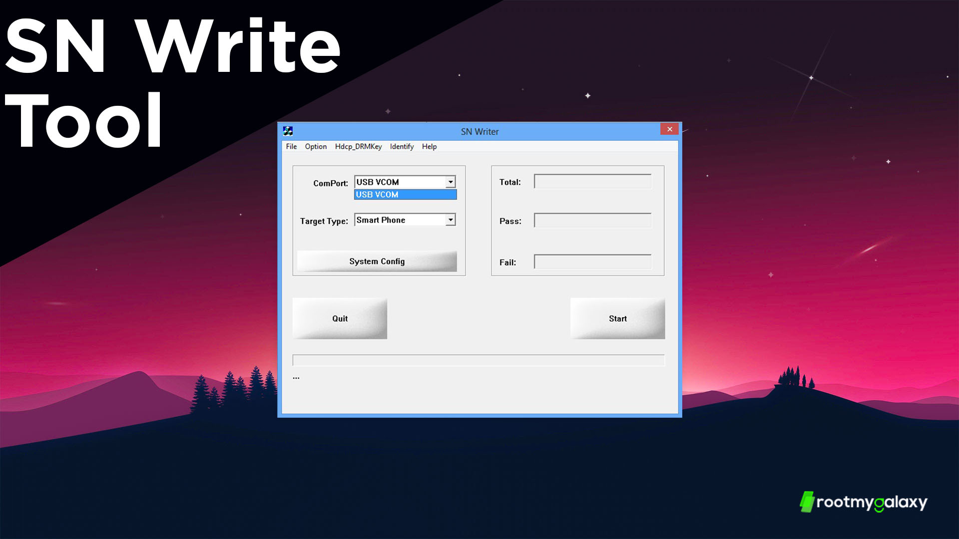 Download SN Write Tool -Latest