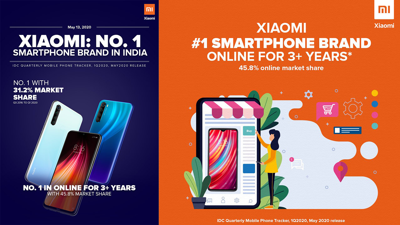 Xiaomi has beaten Samsung for 3 consecutive years in India to be the number one brand