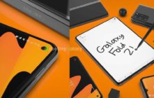 New unofficial Samsung Galaxy Fold 2 renders show punch hole camera cut-out