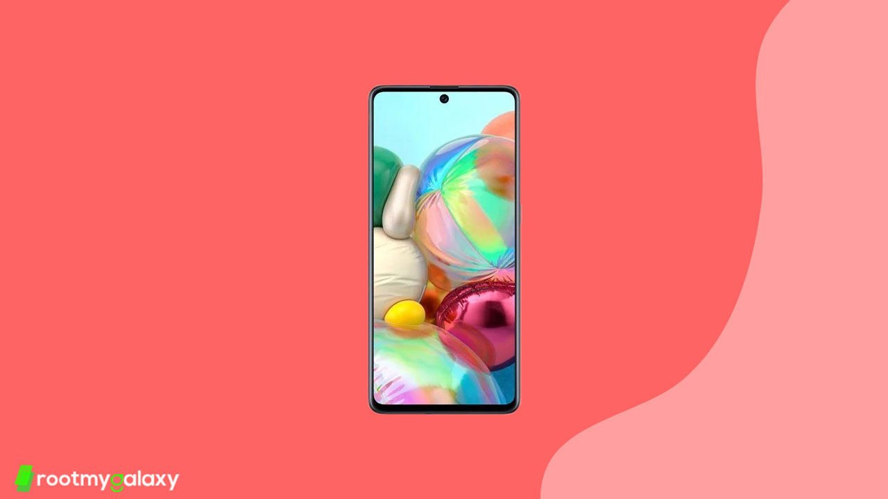Galaxy A71 gets April 2020 security patch