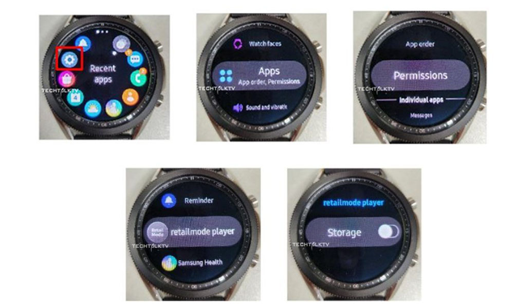 Galaxy Watch 3 real life images leaked