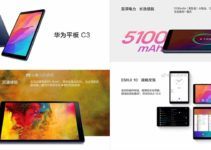 Huawei MediaPad C3 Images and Specs got leaked: an 8-inch display, MediaTek MT8768 Soc and more