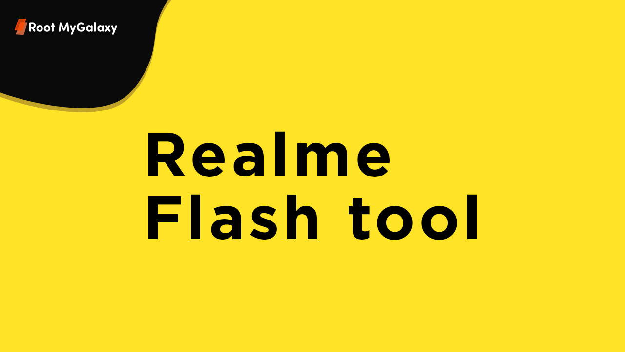 Realme to release Realme Flash Tool For Android 10 (Reame UI) devices