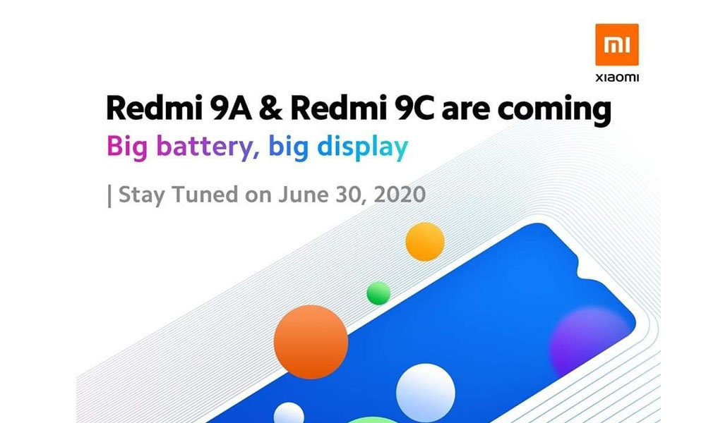 Redmi 9A and Redmi 9C to launch in Malaysia on June 30