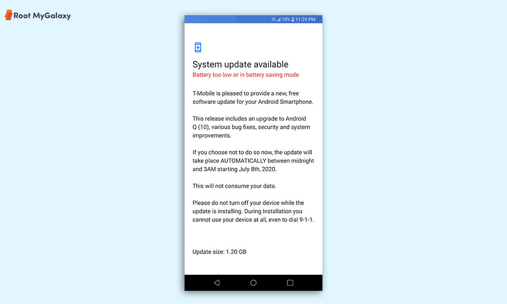T-Mobile LG Stylo 5 gets Android 10 (LG UX 9.0) update