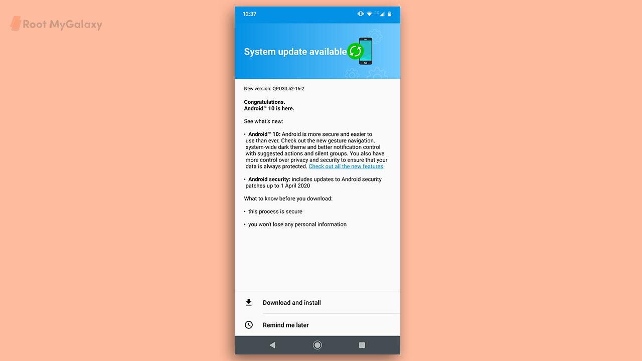 US Unlocked Motorola Moto G7 grabs Android 10 update (QPU30.52-16-2)