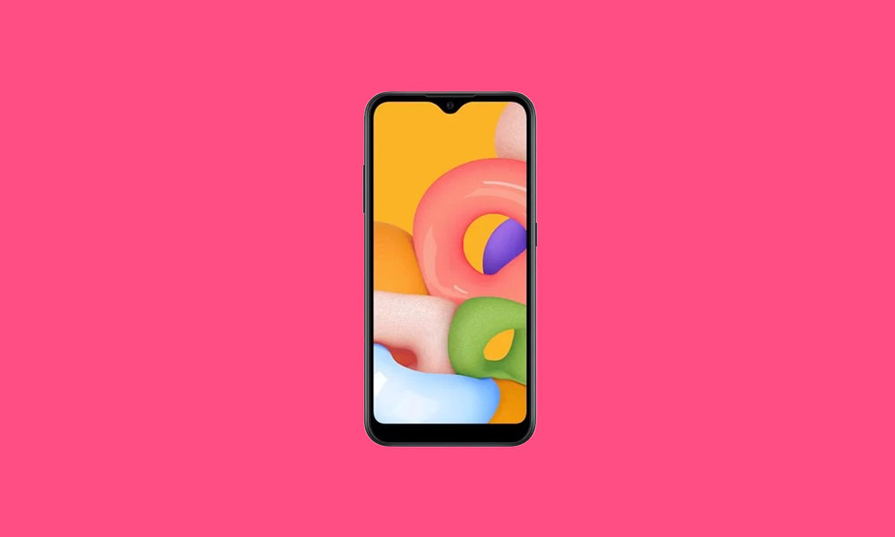 A015MUBS3ATG1: Samsung Galaxy A01 bags July Security Patch