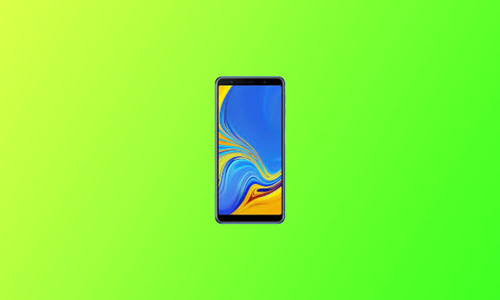 A750GUBS6CTF1: Galaxy A7 2018 is getting June 2020 Security Patch Update