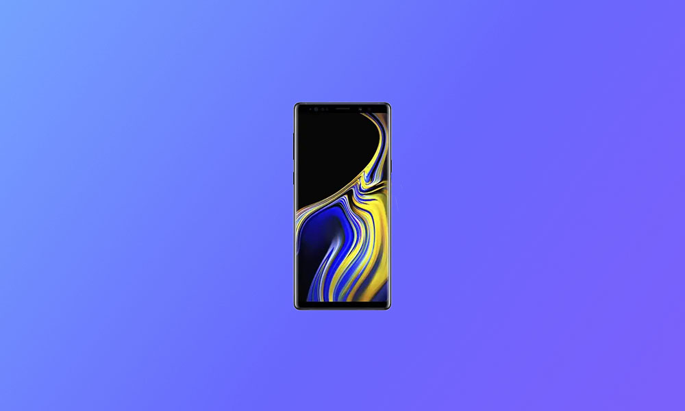 Verizon Galaxy Note 9 gets N960USQU4ETG1 One UI 2.1 (Android 10)