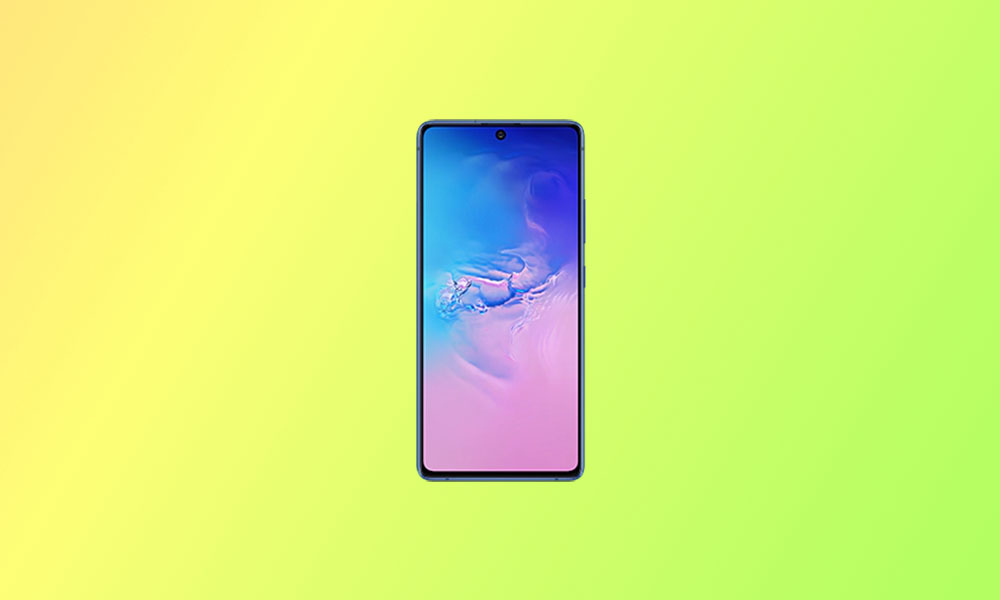 G770FXXS3BTG1: Samsung Galaxy S10 Lite July Security Patch (South America)