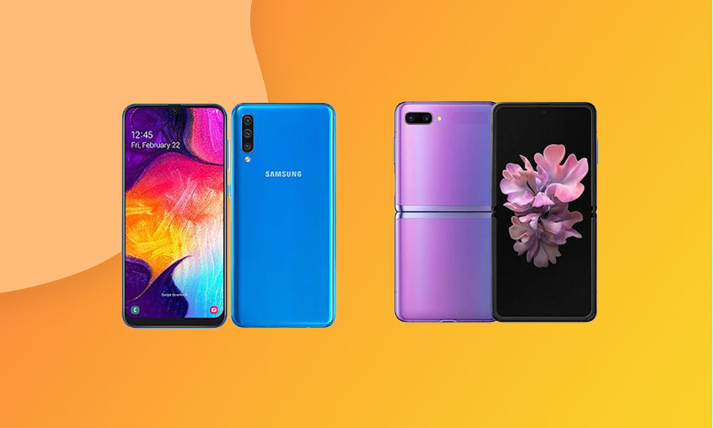 July security patch is live for Samsung Galaxy A50 and Galaxy Z Flip