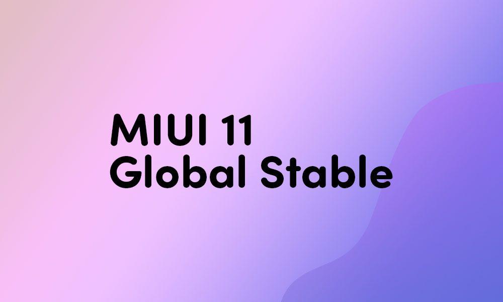 Redmi 7A MIUI 11.0.3.0 Global Stable ROM {Download v11.0.3.0.QCMMIXM}