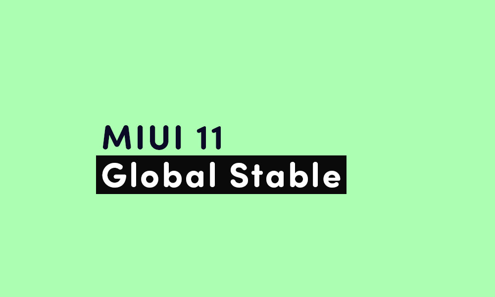 Xiaomi Mi 8 MIUI 11.0.5.0 Global Stable ROM {Download v11.0.5.0.QEAMIXM -June security}