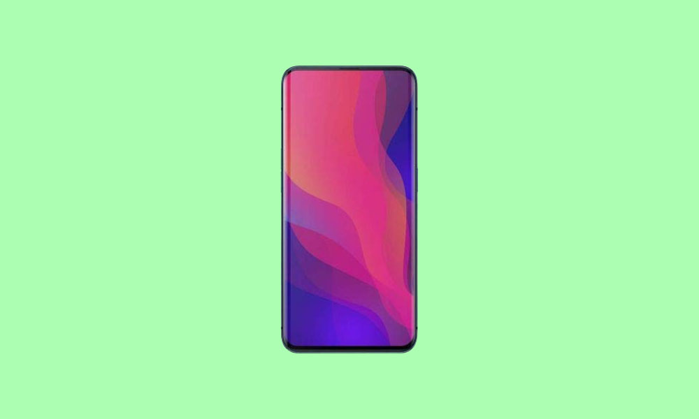 OPPO Find X bags ColorOS 7 June 2020 Security Patch (F.11)