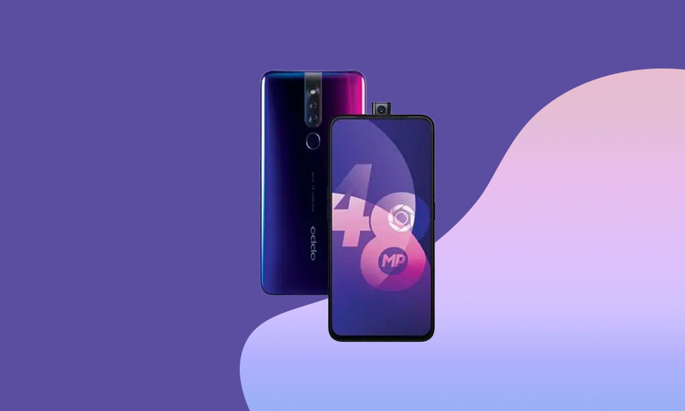 Oppo F11 Pro updated to A.46 June 2020 security (CPH1969_11_A.46)