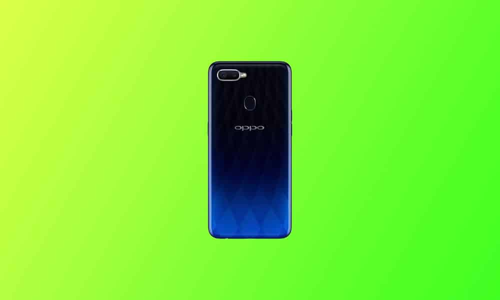 OPPO F9 updated to ColorOS 7.1 June security (CPH1823EX_11_F.10)