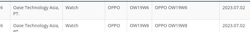 Oppo Watch bags Indonesia 's SDPPI Certification (SNI)