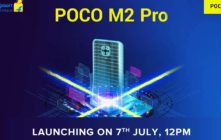 Poco M2 Pro is coming to India on July 7, officially confirmed