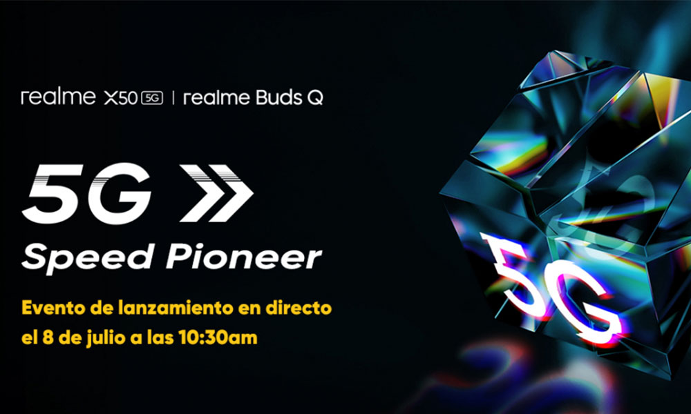 Realme X50 5G to launch on July 8 in Europe, officially confirmed