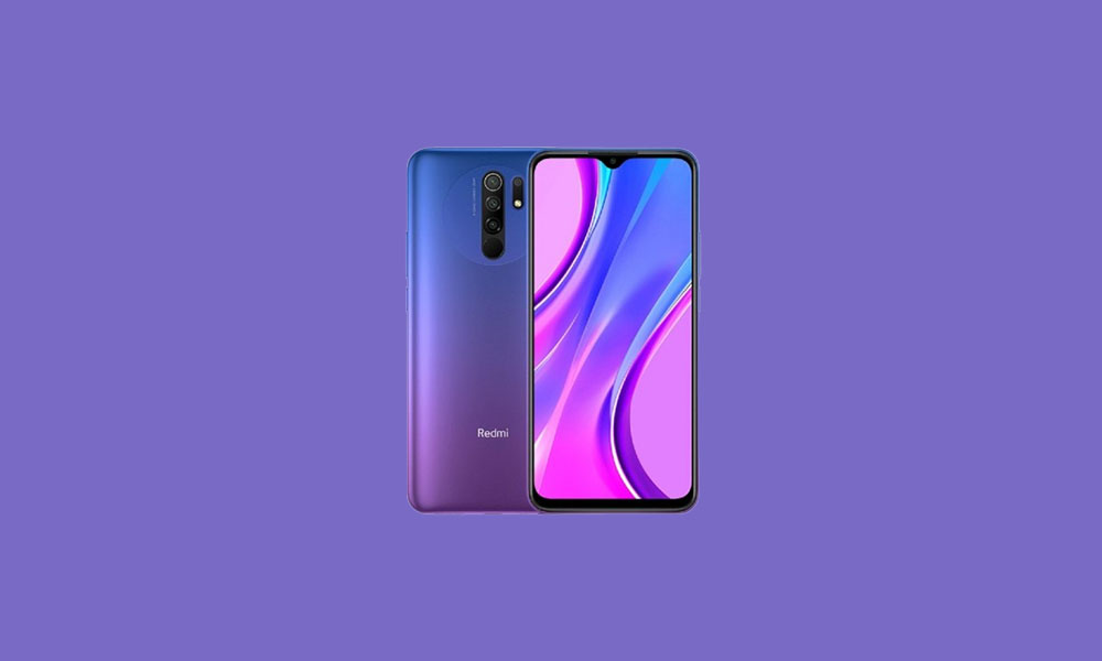 Xiaomi Redmi 9 Stock ROM (Official Firmware File)