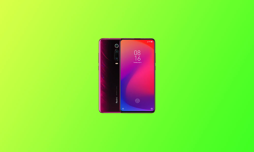 V12.0.2.0.QFJINXM: Xiaomi Redmi K20 MIUI 12 rolls out in India (Download)