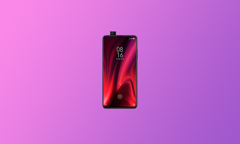 V12.0.2.0.QFKINXM: Redmi K20 Pro MIUI 12.0.2.0 rolls out in India (Download)