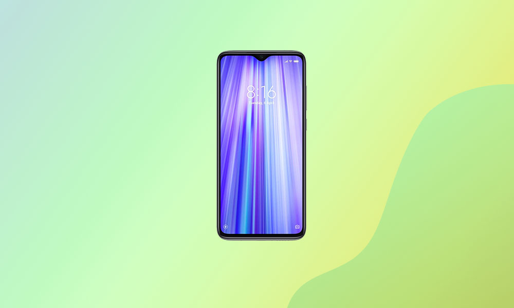 V12.0.2.0.QGGMIXM: Redmi Note 8 Pro MIUI 12.0.2.0 Global stable ROM is live