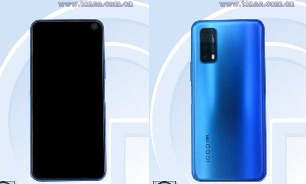 iQOO Z1x's TENAA Listing updated with Full specification and Images