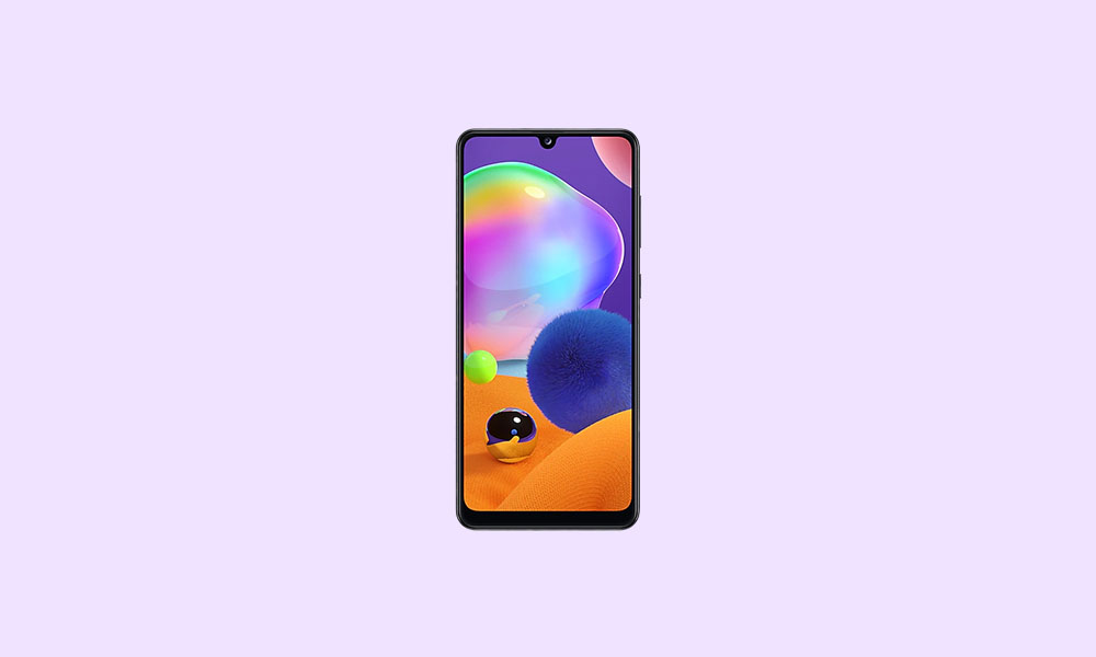 A315GDXS1ATH1: August 2020 Security rolls out for Galaxy A31 In South America