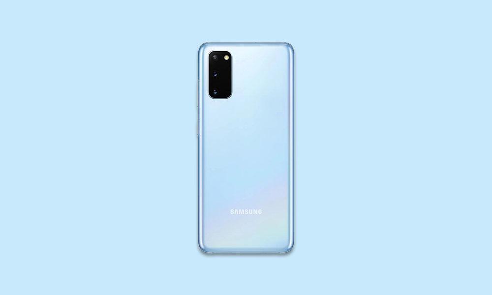 G981U1UEU1BTH3: US UNLOCKED Galaxy S20 5G grabs August Security Patch